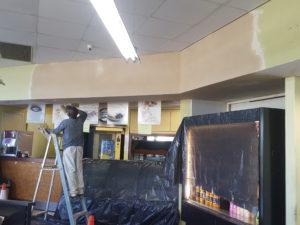 Sasol ceiling repairs